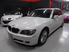 BMW750i キセノン サンルーフ 黒革 純正ナビ D整備車両