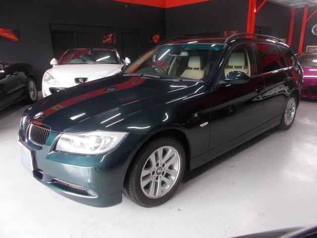 BMW 320iツーリング ハイライン HDD地デジ オフホワイト革
