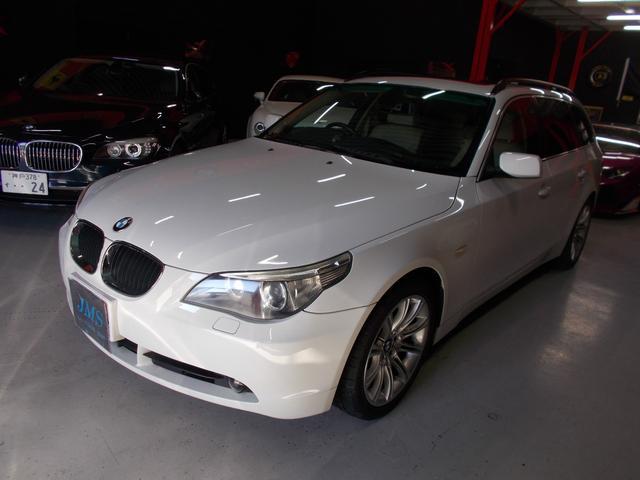BMW 525iツーリングハイライン D整備車両 ダブルサンルーフ
