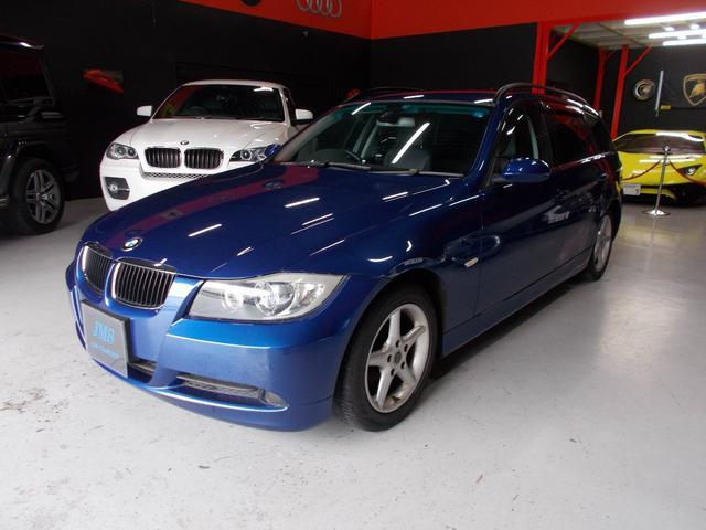 BMW 320iWG ハイライン キセノン 黒革 社外ナビ DL整備
