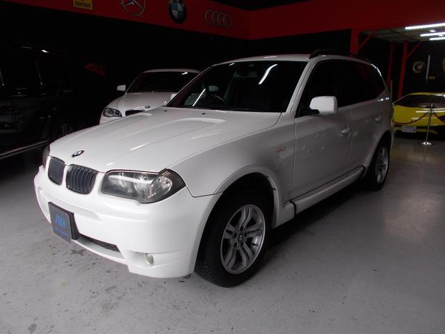 BMW X3 2.5iスポーツパッケージ キセノン クルコン アルミ