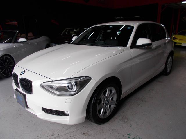 BMW 116i 1オーナーD整備 キセノンヘッドライト 純正16インチ タイヤ8分山 プッシュスタート スマートキー ドアミラーウインカー ETC 電子シフト ディーラー整備記録簿