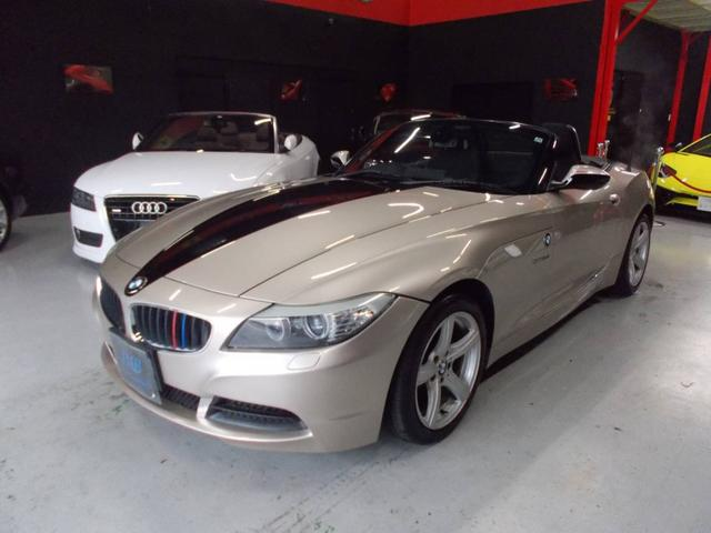 BMW Z4 sDrive23i 電動オープン キセノンヘッドライト 純正17インチ ピレリ8分山 プッシュスタート 純正HDDナビ 地デジフルセグテレビ バックカメラ CD録音 DVD再生 ETC スペアキー ディーラー整備記録簿