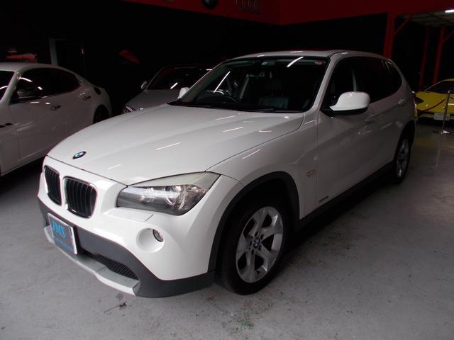 BMW X1 sDrive 18i ハイラインパッケージ キセノンヘッドライト オートライト ヘッドライトウオッシャー 純正17インチ サンルーフ 黒革シート 電動シート シートヒーター ステアリングスイッチ ETC