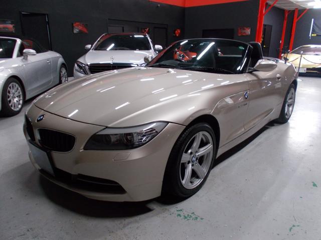 BMW sDrive23i キセノンヘッドライト 純正17インチ ポテンザ8分山 電動オープン 純正HDDナビ 地デジフルセグテレビ CD録音 DVD再生 パドルシフト ETC ディーラー整備車両 整備記録簿