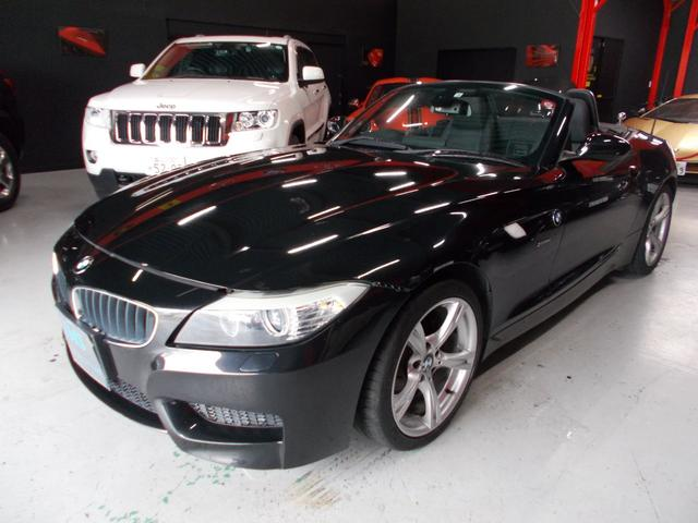 BMW sDrive23i Mスポーツパッケージ 電動オープン キセノンヘッドライト 黒革シート 電動シート シートヒーター プッシュスタート スマートキー 純正HDDナビ 地デジフルセグテレビ CD録音 DVD再生 スペアキー