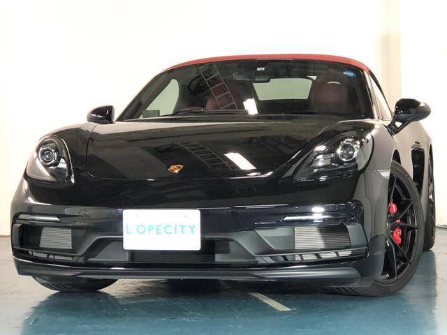 ポルシェ 718ボクスターGTS ・電動格納ミラー・赤幌・20インチAW・シートヒーター・スポーツエグゾースト・スポーツクロノダイヤルレッド・レッドメーターパネル・レッドシートベルト・BOSEサラウンドサウンド