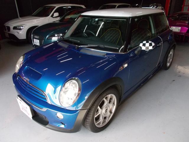 MINI クーパーS 6速マニュアル ディーラー整備 キセノン革カバー