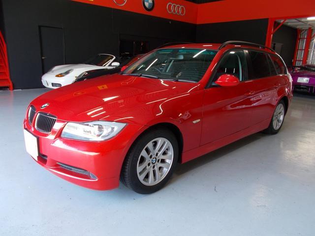 BMW 320iツーリング スマートキー キセノン 社外ナビ D整備