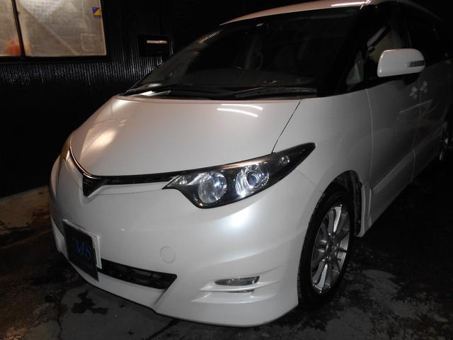 トヨタ アエラスETCキセノン17インチ社外アルミPスタート