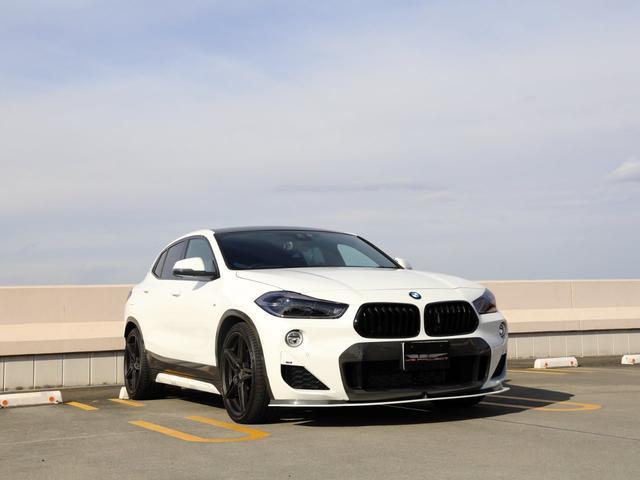 BMW xDrive 20i MスポーツX シュニッツァーカスタム レザーシートヒーター 20インチシュニッツァーアルミ オートリアゲート 部分カーボンラッピング H&Rダウンスプリング スモークテール LED