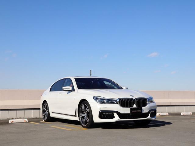 BMW 740i Mスポーツ サンルーフ ブラウン内装 ソフトクローズ FRシートヒーター&ベンチレーション インテリジェントセーフティ ヘッドアップディスプレイ オートトランク LEDヘッドライト