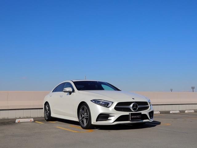 メルセデス・ベンツ CLS220d スポーツ エクスクルーシブパッケージ サンルーフ ブルメスター 360°カメラ レーダーセーフティ シートヒーター&ベンチレーション ヘッドアップディスプレイ オートトランク LEDヘッドライト アクティブB