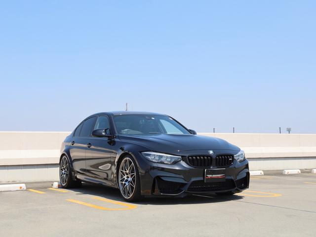 BMW M3セダン コンペティション KW車高調 DIXCブレーキパッド