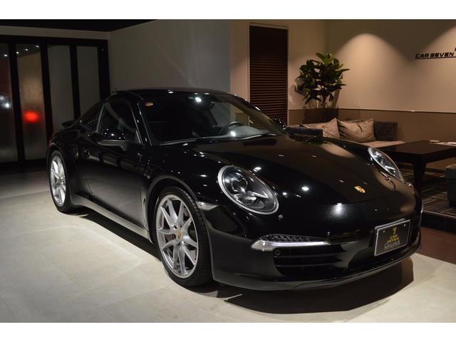 ポルシェ 911カレラS 新車並行 黒革 スライディングルーフ