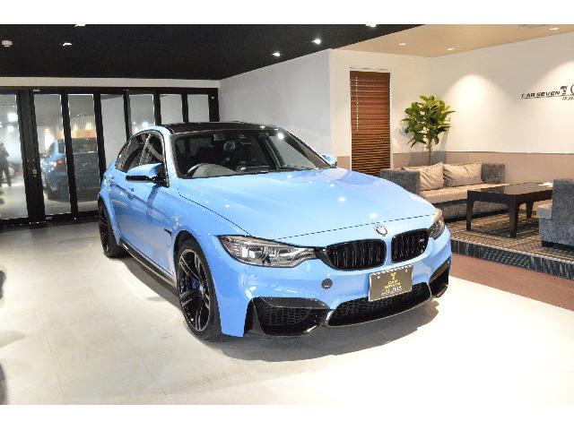 BMW M3 Mサスペンション19インチAW メリノブラックレザー