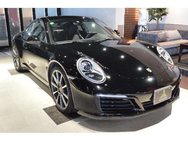 911カレラ 911カレラPDK 2018モデル 左ハンドル 正規ディーラー車 黒革シートヒーター/純正20インチAW ワンオーナー禁煙車