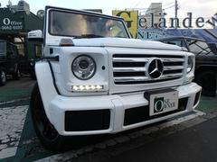 M・ベンツG350d ポーラーホワイト