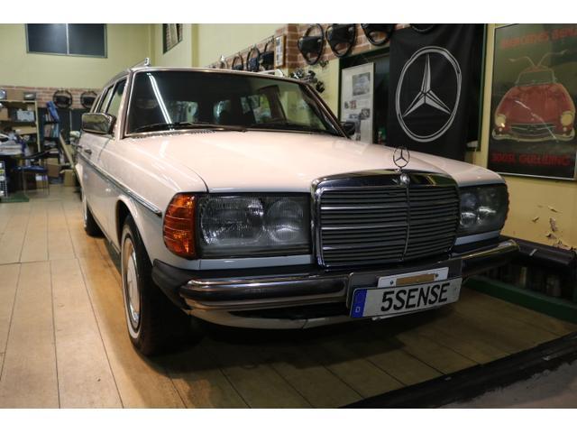 メルセデス・ベンツ 280TE(W123)*エンジン交換済*アーテックホワイト