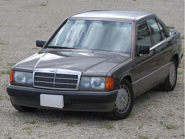 メルセデス・ベンツ 190E2.6 右H A/CR134 ABS ディーラー車