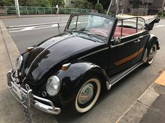 VW ビートルカブリオレ 黒布幌