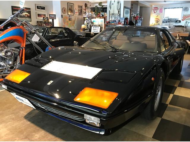 フェラーリ i 外装Black(NERO) 内装Tan ETC ナビ レーダー