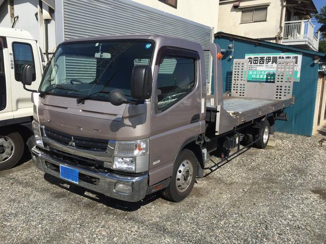 三菱ふそう 積載車 スライドキャリヤ:TADANO SS-38-1