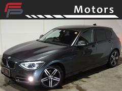 BMW116i スポーツ ワンオーナー 禁煙車 HDDナビ