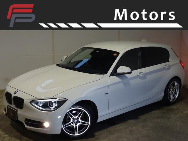 BMW 116iスポーツプラスPKGワンオーナー禁煙HDD黒本革