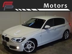 BMW116iスポーツプラスPKGワンオーナー禁煙HDD黒本革