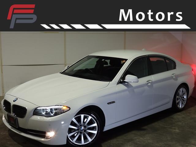 BMW 528i ワンオーナー禁煙 黒本革 HDDナビ地デジ