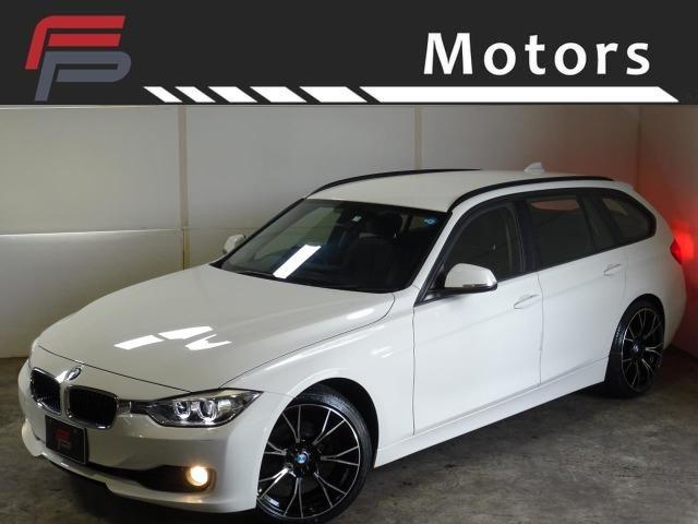 BMW 3シリーズ 320iツーリング 禁煙 HDDナビバックカメラ Bluetooth コンフォートアクセス 電動Rゲート Mタイプ新品19AW新品タイヤ新品サスKIT ディーラー整備