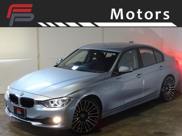 BMW 3シリーズ 320i ワンオーナー禁煙 HDDナビ バックカメラ Bluetooth コンフォートアクセス Mタイプ新品20AW 新品タイヤ ACシュニッツァーサスキット ディーラー整備