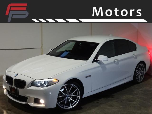 BMW 523i 禁煙 HDDナビ地デジバックカメラ コンフォートアクセス クルーズコントロール パドルシフト 純正OP 20AW Mスポーツ専用インテリア エクステリア ディーラー整備 スペアキー