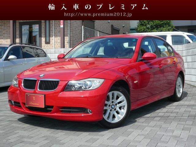 BMW 320i ワンオーナー キセノン 純正iDrive Pシート