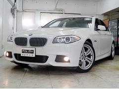 BMW523iMスポーツP 6ヶ月保証 1オナ 革 ナビTV SR
