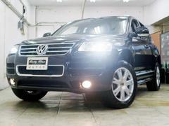 VW トゥアレグV6 シュトルツ 本革 ナビTV HID Bカメラ エアロ