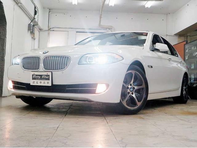 BMW アクティブハイブリッド5 6ヶ月保証 1オナ 本革 SR
