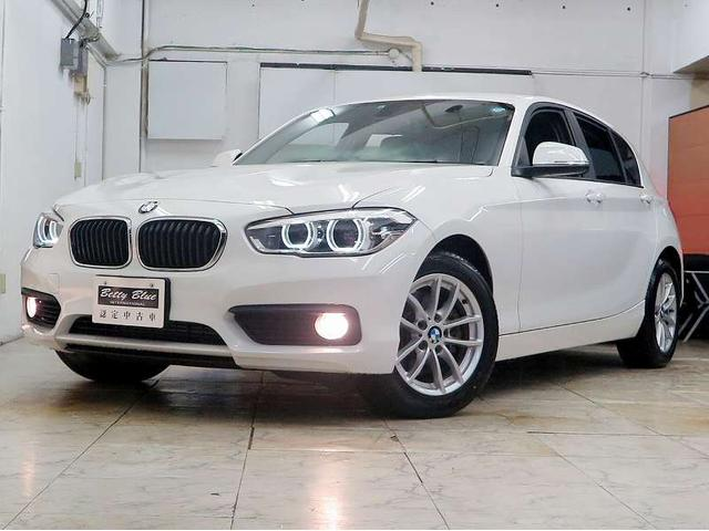 BMW 118iプラス パーキングサポートP 新車保証 LEDライト