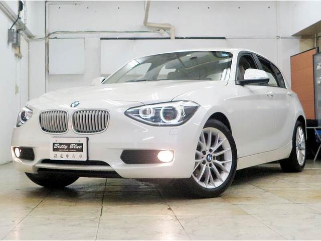 BMW 116i ファッショニスタ 限定車 6ヶ月保証 革 ナビTV