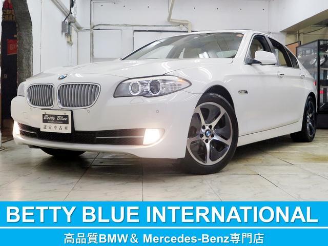 BMW アクティブハイブリッド5 本革 ナビTV SR 6ヶ月保証