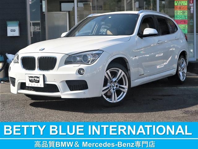 BMW X1 sDrive 20i エクスクルーシブ スポーツ 限定車 パドルシフト ネバダレザースポーツPシート/ヒーター 純正HDDナビ 社外フルセグTV Bカメラ ミラーETC Mエアロ M18AW HID ECOストップ コンフォートアクセス 8速AT