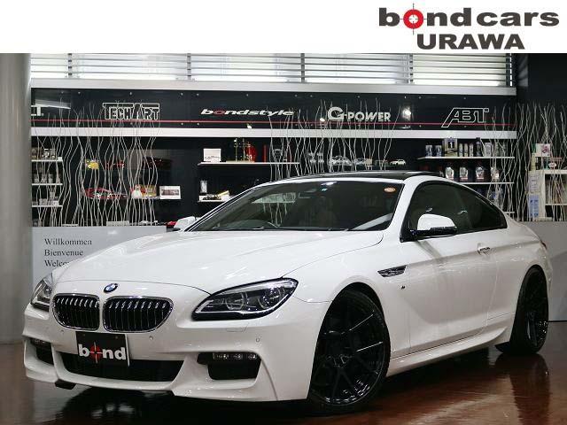 BMW 640iクーペ Mスポーツ・BC車高調・ロティフォーム20