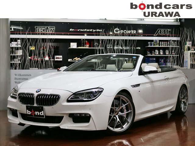 BMW 640iカブリオレ Mスポーツ BBS20AW・KW3車高調