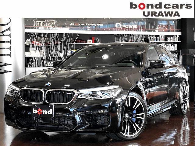 BMW M5 M5 ハーマンカードンオーディオシステム ドライビングアシストプラス シートヒーター&ベンチレーション ACC HUD 360°カメラ