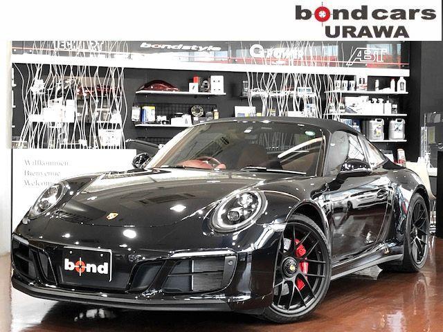 911 911タルガ4GTS フルレザーインテリア・ベンチレーションシート・シートヒーター・エントリードライブ・バックカメラ・地デジ・BOSE・スポーツエキゾースト・スポーツクロノ