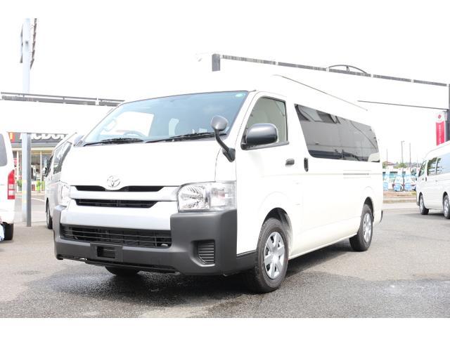 トヨタ 2.7G 10人乗 3ナンバー 乗用登録 パワスラ 事業用可