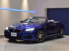 BMW M6カブリオレ ホワイトレザー カーボンインテリア 黒幌