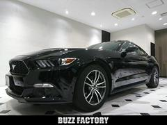 フォード マスタングエコブースト プレミアム 黒革 走行確認書 2017モデル
