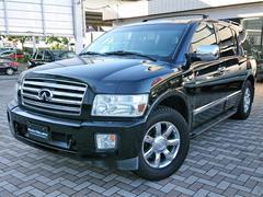 インフィニティ QX56AWD ブラックレザー サンルーフ 1ナンバー